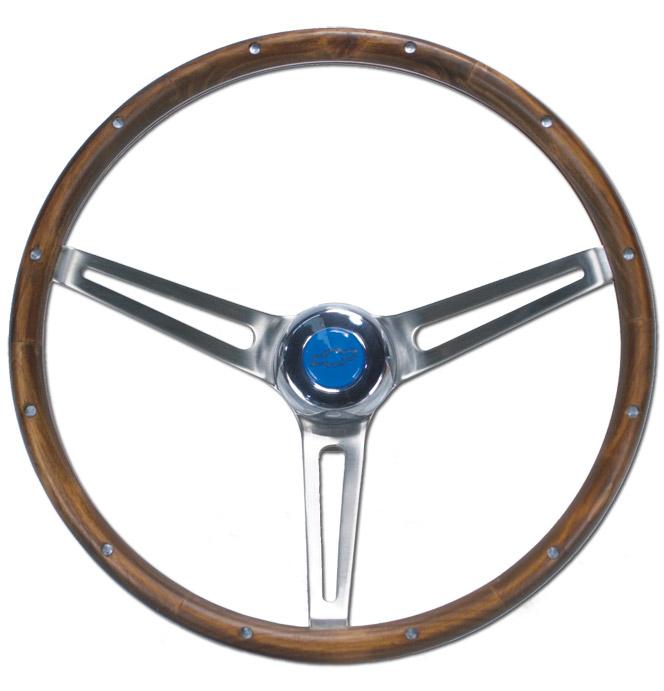 (1941-94)  Steering Wheel-Bowtie-Wood