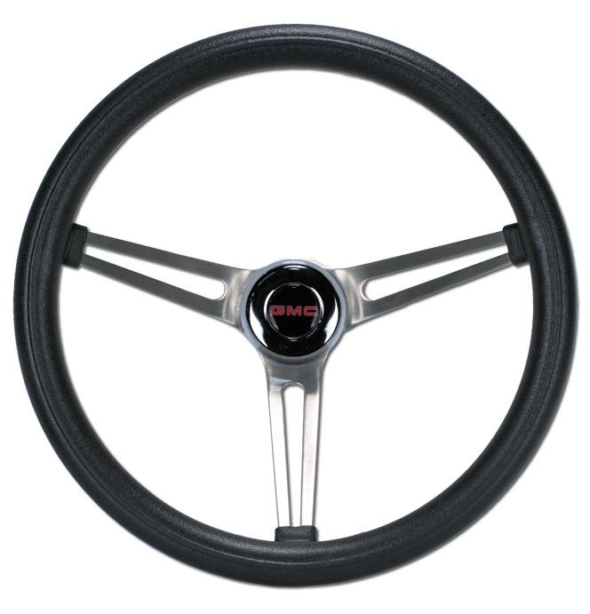 (1941-91)  Steering Wheel-GMC-Black