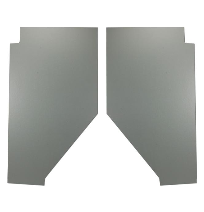 (1947-54) Cardboard Kick Panels - pr - Gray