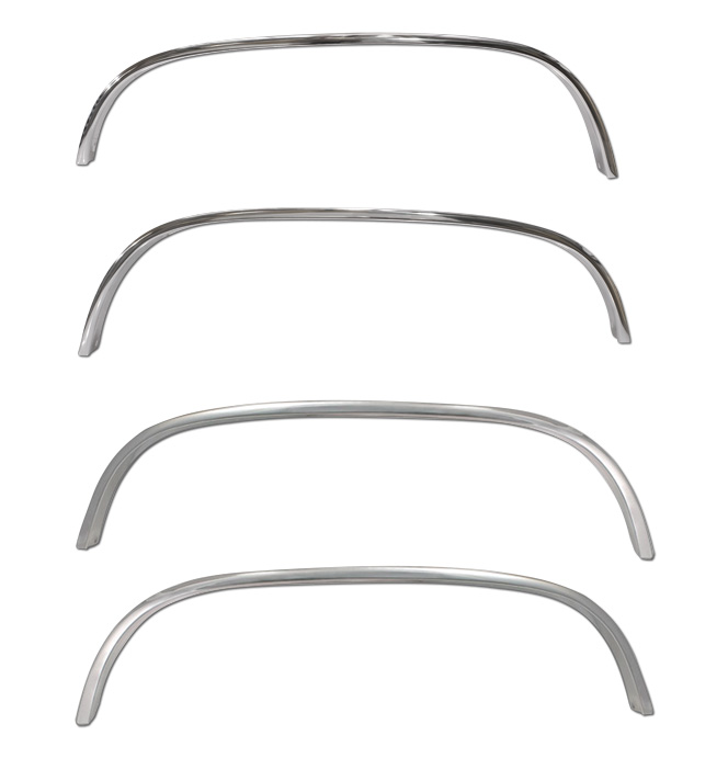(1988-98) Wheel Arch Molding Kit - Chrome OE