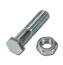 (1973-80)  Hood Rear Adjuster Bolt & Nut