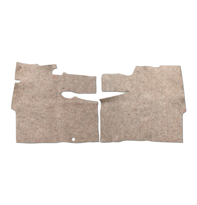 (1967-72) Floormat Pad - Pre-Cut - Small Hump