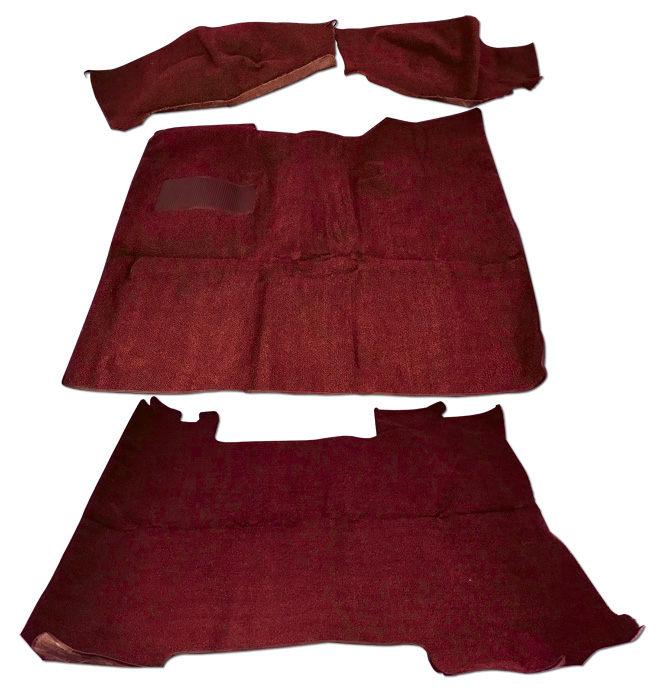 (1969-72)  * Carpet Set-Blazer-Red