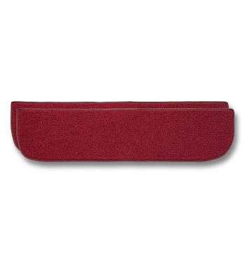 (1967-72)  Carpeted Lower Inner Door Panels-Red