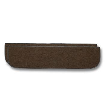 (1967-72)  Carpeted Lower Inner Door Panels-Brown