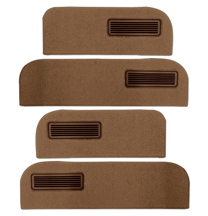 (1973-74)  Carpeted Door Bottom Covers-Saddle-Loop