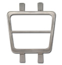 (1969-72)  Parking Brake Pedal Pad Bezel