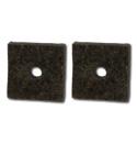 (1952-54)  Brake & Clutch Floor Seals