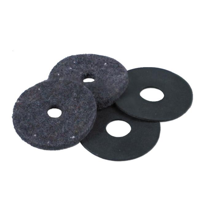 (1955-59)  Brake & Clutch Floor Seals