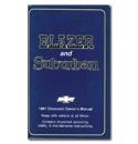 (1987)  Owners Manual-Blazer/Suburban