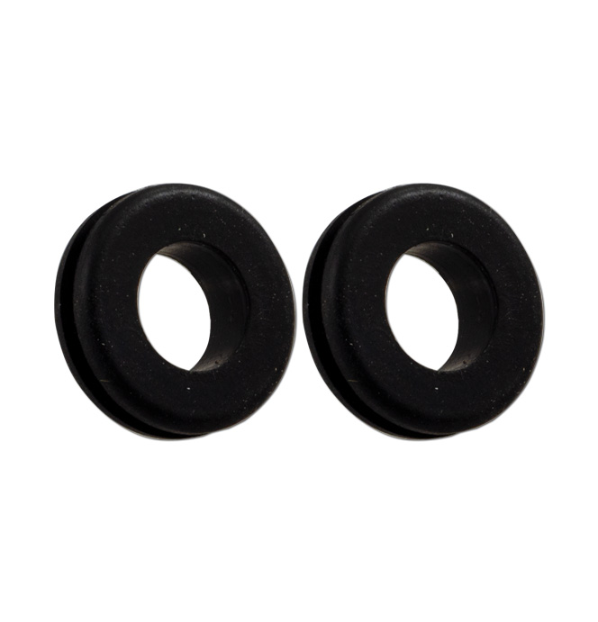 (1941-54)  Inner Fender Headlamp Wire Grommets-pr.