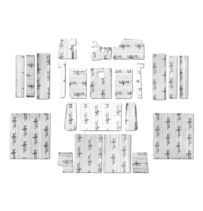 (1937-46) Complete Interior Insulation & Sound Dampening Kit
