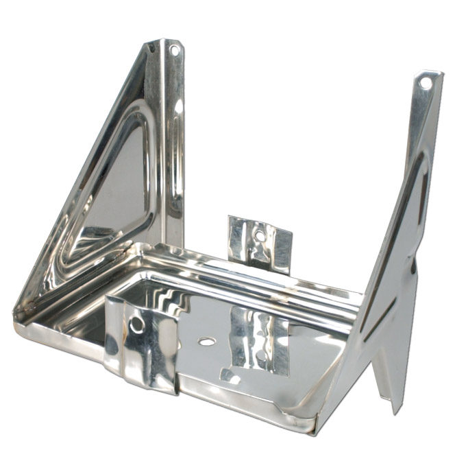 Battery Box Stainless Classic Chevy Truck Parts