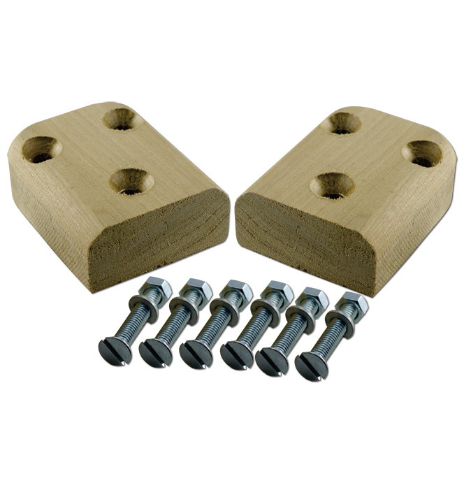 (1934-46)  Floor Rail Wood Block Kit