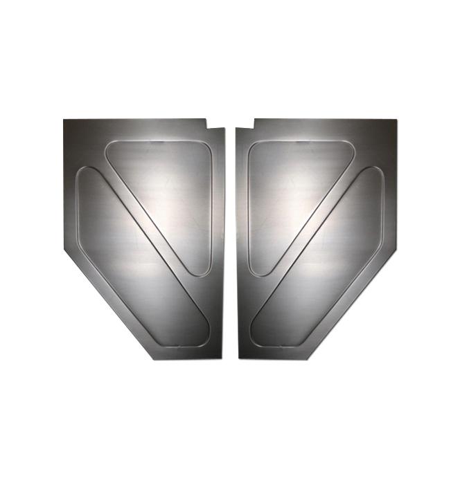 (1947-54) Inner Kick Panels - Custom Steel - pr