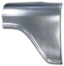 (1955-57)  * Front Fender Rear Half Section-Left