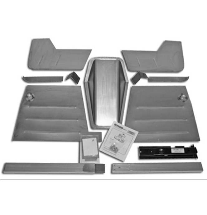 (1947-54)  *Street Rod Floor Kit-for use w/45-905