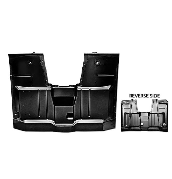 (1960-62)  **Complete Cab Floor Pan - w/o Hump