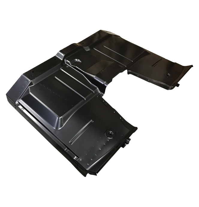 (1963-66)  **Complete Cab Floor Pan - Removable Hump