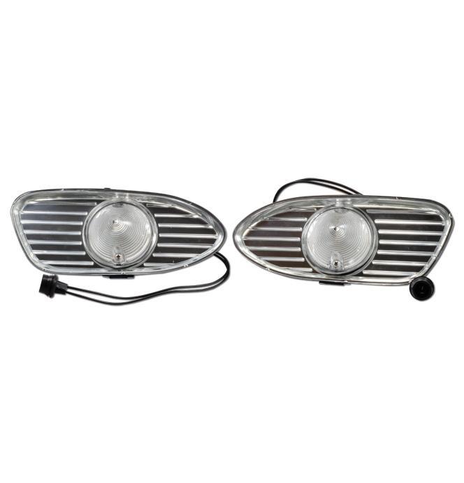 (1958-59) Complete Parklight Assy - GMC - pair