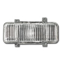 (1980)  Parklamp Housing Assembly-Left w/Chrome Grill