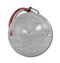 (1955-57)  Parklamp Lens-Chevy-Clear LED