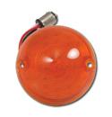 (1955-57)  Parklamp Lens-Chevy-Amber -LED