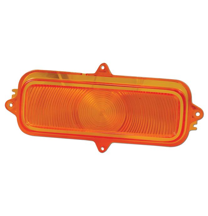 (1960-66)  Parklamp Lens-Chevy-Amber