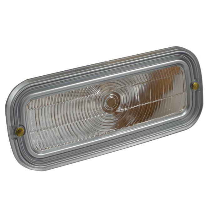 (1960-61) Parklamp Lens - GMC-Clear-ea.