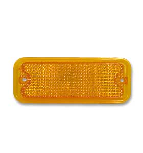 (1973-74)  Parklamp Lens-Right-Amber-w/o Trim