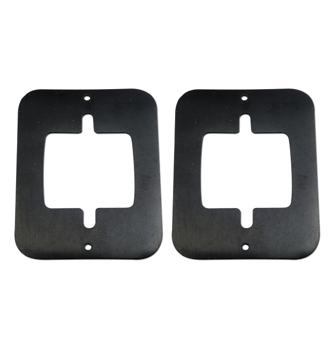 (1954-55 1st)  Parklamp Housing Fender Gaskets