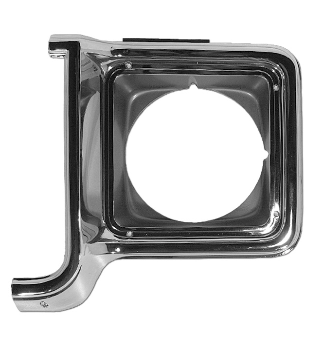 (1973-78)  Headlamp Bezel-Left