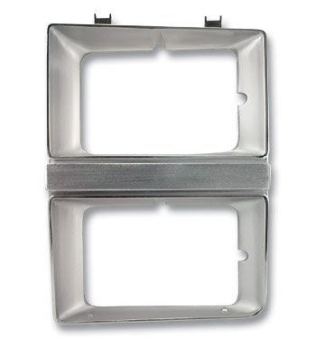 (1981-82)  Headlamp Bezel-Left-DHL