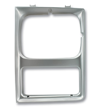 (1985-88)  Headlamp Bezel-Left-SHL-Silver