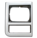 (1989-91)  Headlamp Bezel-RH  WO/Chrome Grille