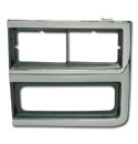 (1989-91)  Headlamp Bezel-LH Chev.  W/Chrome Grille