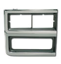 (1989-91)  Headlamp Bezel-RH Chev.  W/Chrome Grille