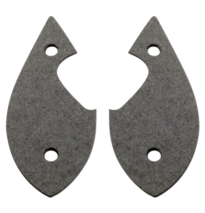 (1937)  H/L Stand to Radiator Housing Gaskets-pair
