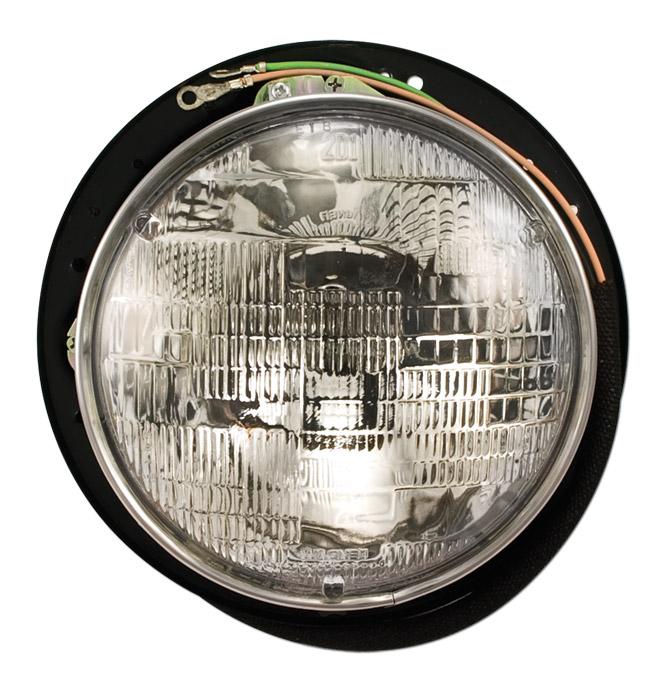 (1947-54)  Headlamp Bucket Assembly with 12volt Bulb