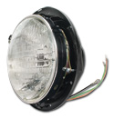 (1955-57)  Headlamp Bucket Assy w/12v Bulb