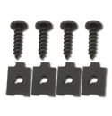 [1958-66]  Taillamp Housing Mounting Clip Set