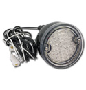 (1960-66)  LED Taillamp Assembly-Painted-Clear Lens