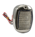 (1941-53)  LED T/L Assembly-Stainless-L-Clear