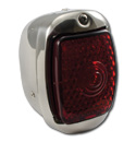 (1941-53)  LED T/L Assembly-Stainless-L-Red