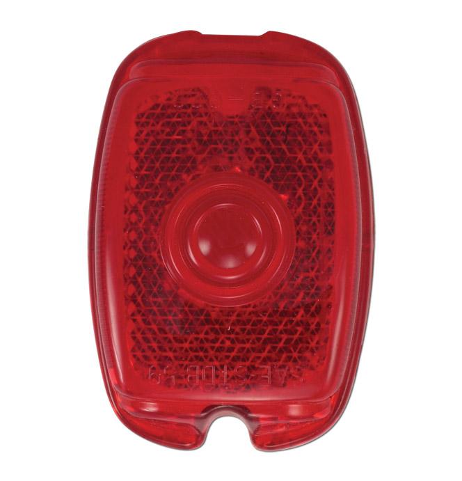 (1941-53)  Taillamp Lens-Plastic