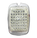 (1941-53)  LED Taillamp Lens-Plastic Clear