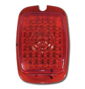 (1941-53)  LED Taillamp Lens-Plastic Red