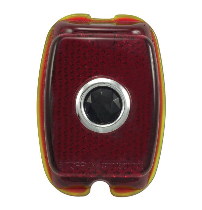(1941-53)  Taillamp Lens-Glass w/Bluedot