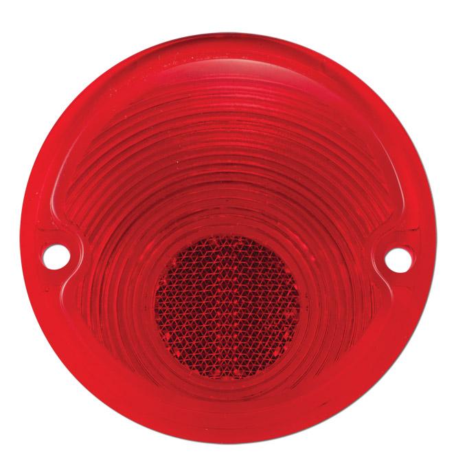 (1956-59)  Taillamp Lens-Step