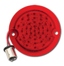 (1956-59)  LED Taillamp Lens-Stepside - Red